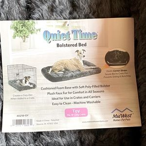 🐾 18 inches-grey dog/cat bed🐾 NWT